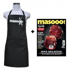 ČASOPIS MASOOO! + ZÁSTĚRA PODIVÍN
